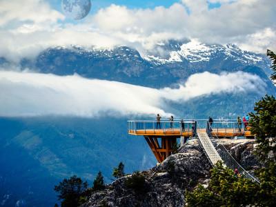 Путешествие от «Океана к Небу» из Ванкувера