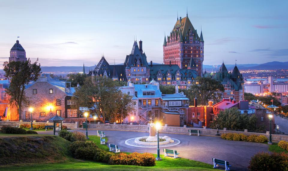Квебек лидер Канады по экскурсионным турам