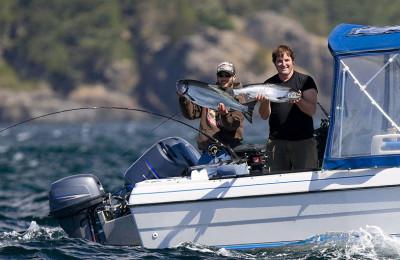 Океанская рыбалка в Британской Колумбии