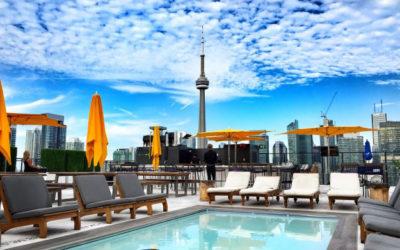 Лучшие рестораны патио на крышах в Торонто