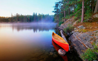 Лучшие озера в Квебеке для отдыха летом