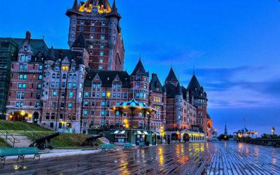 Что нужно посетить в Квебеке зимой и туризм в Канаду